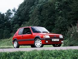 peugeot nearly new cars peugeot 205 gti remember being driven to in this car