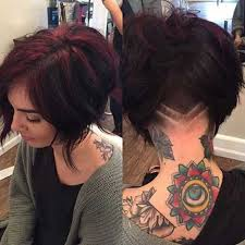 short stacked bob haircut shaved very trending stacked bob haircuts bob hairstyles 2017 short