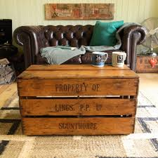 vintage trunk coffee table coffee table with drawers vintage