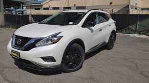 2017 nissan murano platinum white 2017 nissan murano midnight edition platinum in 4k youtube