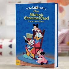 personalized disney mickey mouse u0027s christmas storybook
