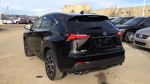 lexus nx interior trunk 2016 lexus nx 200t awd f sport review youtube