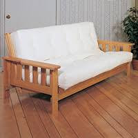 wood futon with mattress roselawnlutheran