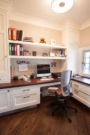 Built In Office Desk 23 Beautiful Transitional Home Office Designs Home Office