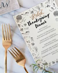 thanksgiving dinner casserole illustrated printable thanksgiving dinner menu