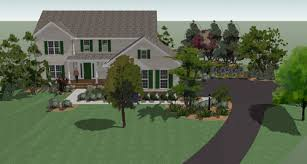 Home Design Using Sketchup 3d Landscape Design Pictures
