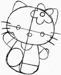 draw kitty drawingtutorials101 kitty