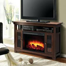 electric fireplace lowes logs walmart tv stand costco rustic pine