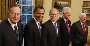 first five presidents usa politics five us presidents meet barack obama pictures