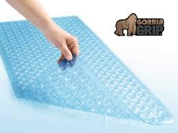 Blue Bath Mat The Original Gorilla Grip Tm Non Slip Bath Mat Fits Any Size
