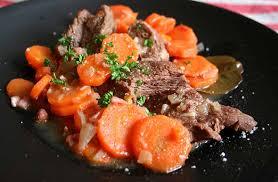 cuisiner paleron bœuf aux carottes recettes cookeo