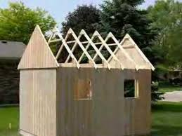 How To Build A Small Backyard Storage Shed by Building A Carriage House Small Barn Shed Youtube