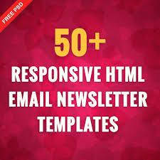 free thanksgiving newsletter templates 50 responsive html email newsletter templates freepsdhtml