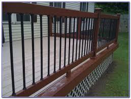 deck railing balusters home depot decks home decorating ideas