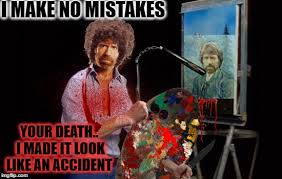 How To Make A Meme In Paint - bob norris i paint with the blood of my enemies the joy of killing