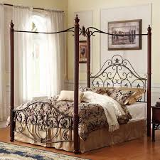 Wrought Iron Canopy Bed Wrought Iron Beds With Canopy Quecasita