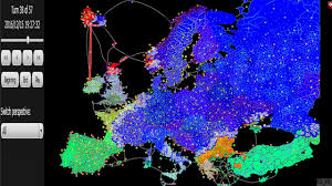 Europe Map Games by Huge Europe Map 3 200 Territories Risk Game Won Blue Color