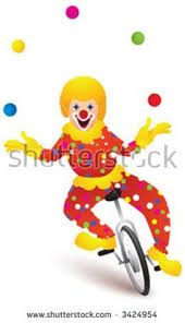 clowns juggling balls j juggling jokes if they so chose kids could come up and use