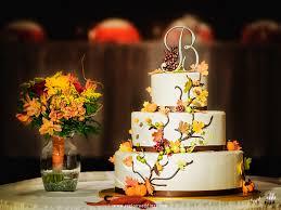 Fall Cake Decorations Fall Wedding Ceremony At Radisson Hotel U2014 Region Weddings