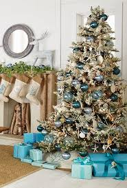 Christmas Decorations In Blue And Silver by Celebrate Christmas And Hanukkah