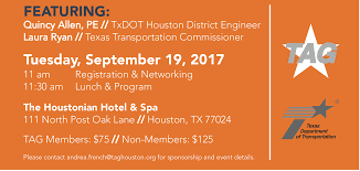 1st annual state of txdot tickets tue sep 19 2017 at 11 00 am