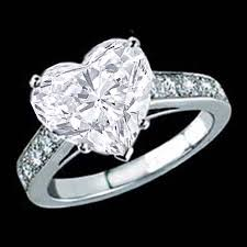 heart bridal rings images Heart shape diamond interwined channel bridal wedding rings set jpg
