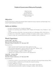 federal government resume template free federal resume template free federal resume exles free