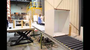 Cabinet Assembly Cabinetsmith Assembly Line Youtube