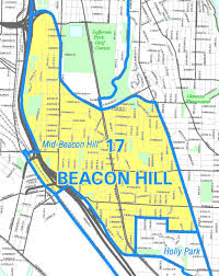 Bike Master Plan West Seattle Sodo And South Park by Seattle Map Beacon Hill