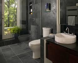 fresh classic gray tile bathroom design 4542