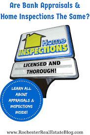 what u0027s the difference between an appraisal and a home inspection