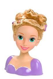 amazon disney princess rapunzel styling head doll toys u0026 games