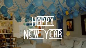Room Decoration For New Year Party by Efficient Enterprise Wishes Happy New Year Bedecorative