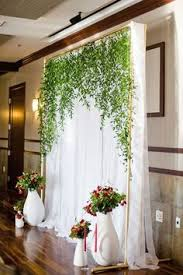 wedding backdrop and stand build your own pvc backdrop for the ceremony use it for your