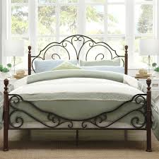 Metal Bed Frame Headboard Awesome Metal Bed Frame Headboard Footboard With Collection