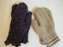 sweater mittens mittens from an sweater part one