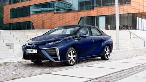 japanese vehicles toyota toyota mirai 2015 hydrogen fuel cell vehicle review by car magazine