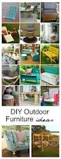 Outdoor Furniture Ideas by Diy Outdoor Furniture Ideas The Idea Room