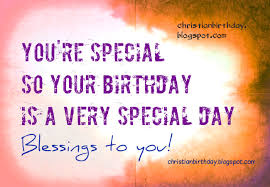 christian card blessings to you happy birthday christian