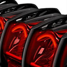 automotive led light bars automotive led lights bars strips halos bulbs custom light kits