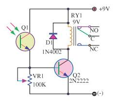 light switch for lamps controller digital circuit