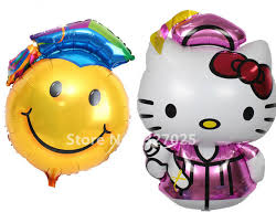 hello graduation 1pcs lot big hello doctorial hat helium balloon smiling