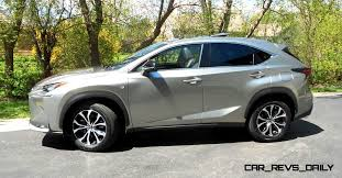 lexus small truck 2015 lexus nx200t f sport awd review