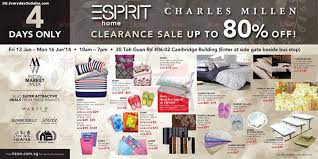 13 16 jun 2014 esprit singapore clearance sale for home decor