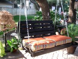How To Build Pallet Patio Furniture by How To Make A Pallet Swing Home Design Garden U0026 Architecture
