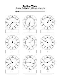 free worksheets time worksheets ks2 nearest 5 minutes free