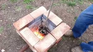 melting aluminum in a homemade diy furnace foundry youtube