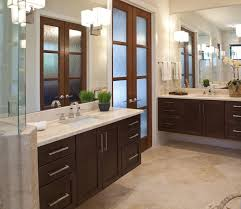Images Of Master Bathrooms With Dark Wood Cabinets Cabinets Of - Dark wood bathroom cabinets
