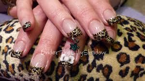 underthelilyshadowleopard print dangle