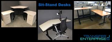 Sit Stand Office Desk by Sit Stand Desks Tedesk